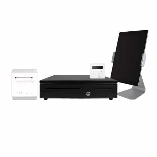 POS Kassensystem mit iPad Drucker und Kassenschublade