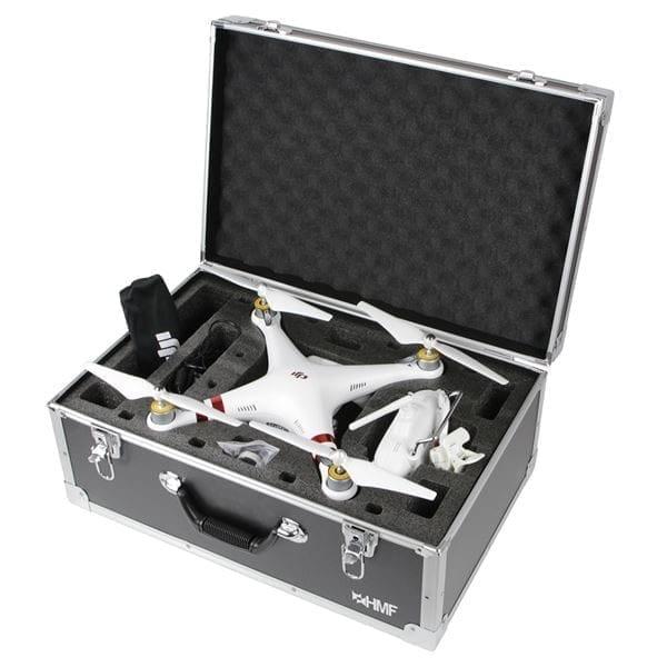 Koffer mit Dji Phantom 4 Pro