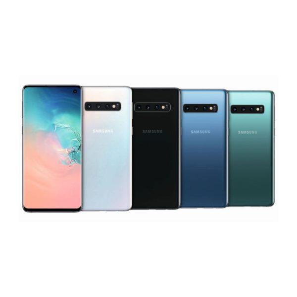 Samsung Galaxy S10 - Android Smartphone mit IP68 Zertifikat und Fingerabdrucksensor im Display mit und ohne SIM Karte für Events VR-Events Ticket Scanning Telefonie App Testing Vermietung