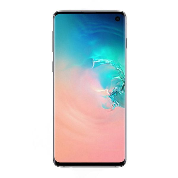 Samsung Galaxy S10 - Android Smartphone mit IP68 Zertifikat und Fingerabdrucksensor im Display mit und ohne SIM Karte für Events VR-Events Ticket Scanning Telefonie App Testing ausleihen