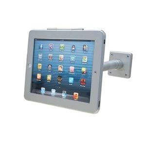 Tablet Wandhalterung mit Schwanenhals kompatibel mit Apple iPad - Für Messen und Events ausleihen