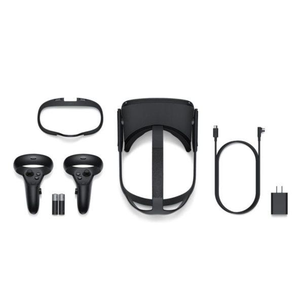 Oculus Quest All-in-one VR Headset inklusive Controller und Zubehör